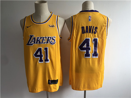 Los Angeles Lakers Game Jerseys-099