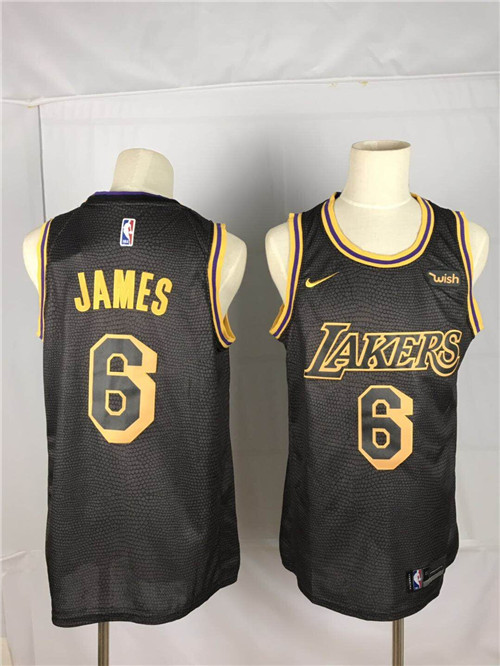Los Angeles Lakers Game Jerseys-107