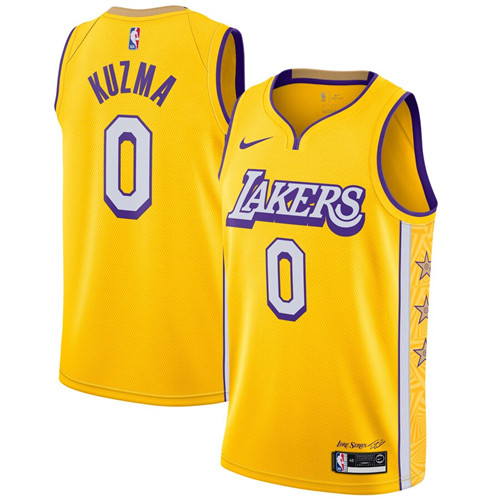 Los Angeles Lakers Game Jerseys-136