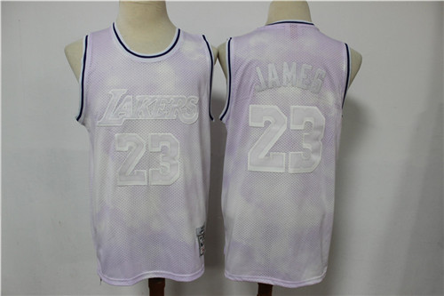 Los Angeles Lakers Game Jerseys-218