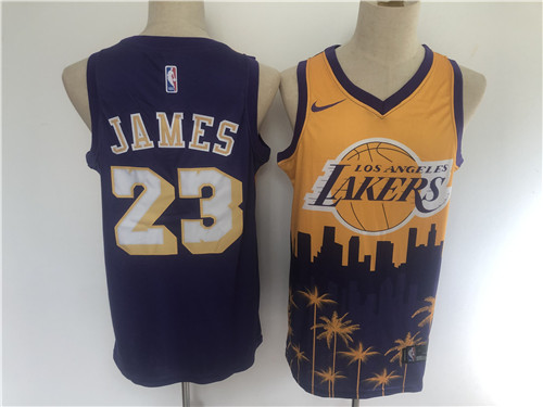 Los Angeles Lakers Game Jerseys-225