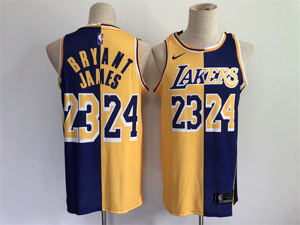 Los Angeles Lakers Game Jerseys-331