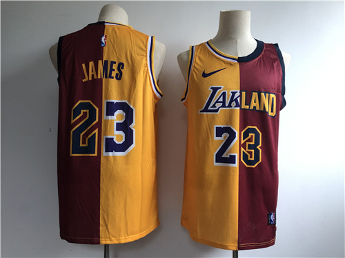 Los Angeles Lakers Game Jerseys-084