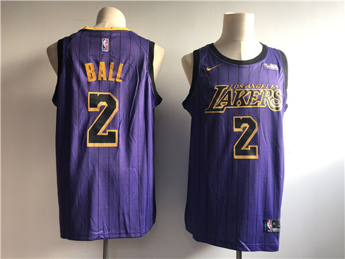 Los Angeles Lakers Game Jerseys-085