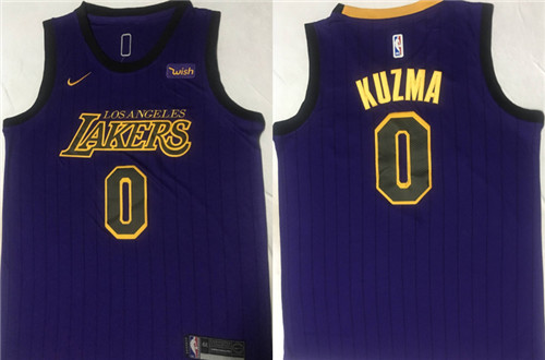 Los Angeles Lakers Game Jerseys-086