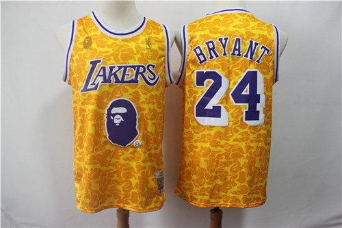 Los Angeles Lakers Game Jerseys-087