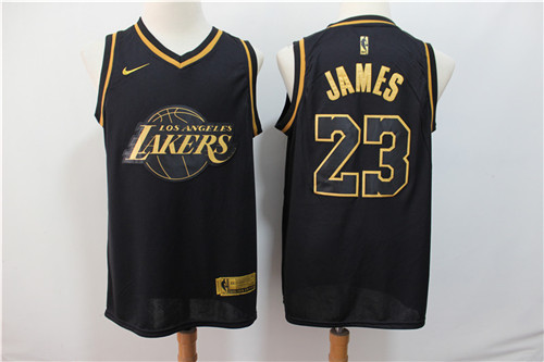 Los Angeles Lakers Game Jerseys-098