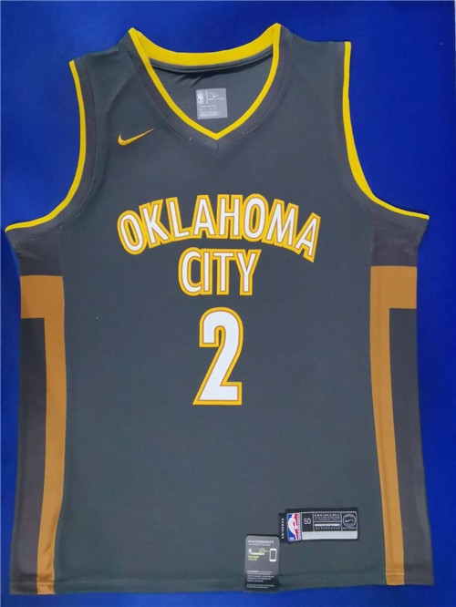 Oklahoma City Thunder Game Jerseys-044