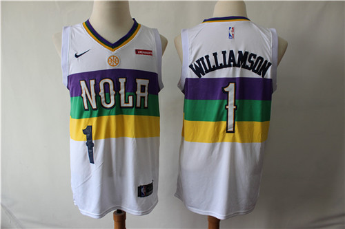 New Orleans Pelicans Game Jerseys-024