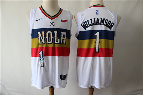 New Orleans Pelicans Game Jerseys-025