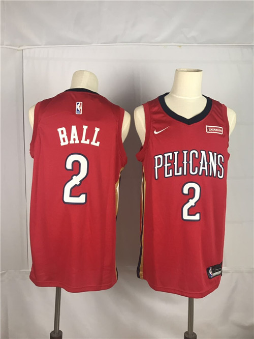 New Orleans Pelicans Game Jerseys-026