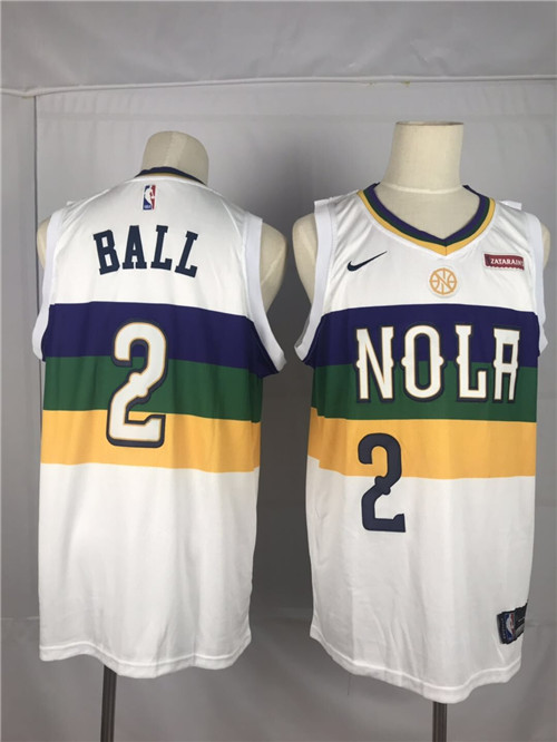 New Orleans Pelicans Game Jerseys-027