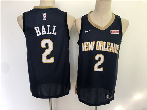 New Orleans Pelicans Game Jerseys-028