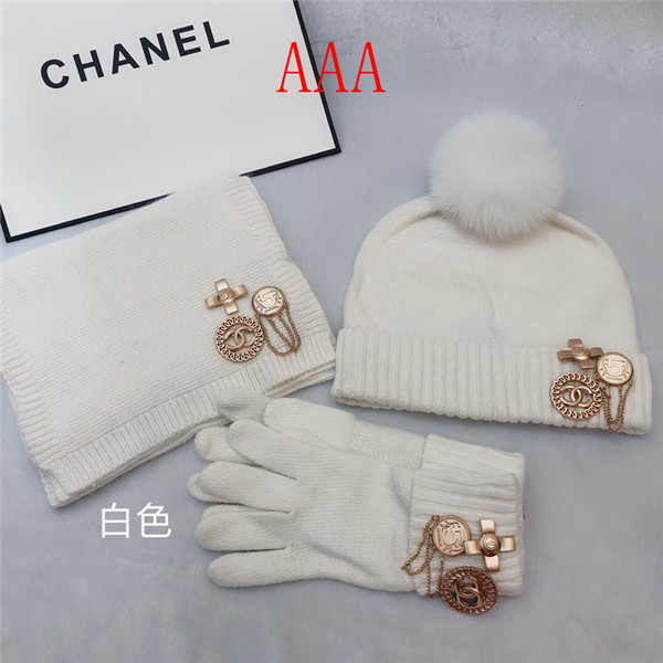 Chanel Hat and scarvf(AAA)-042
