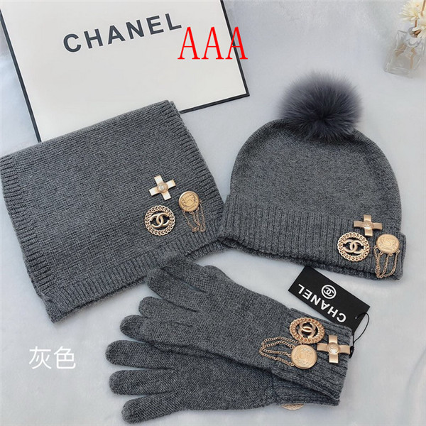 Chanel Hat and scarvf(AAA)-043
