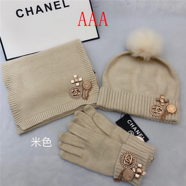 Chanel Hat and scarvf(AAA)-044