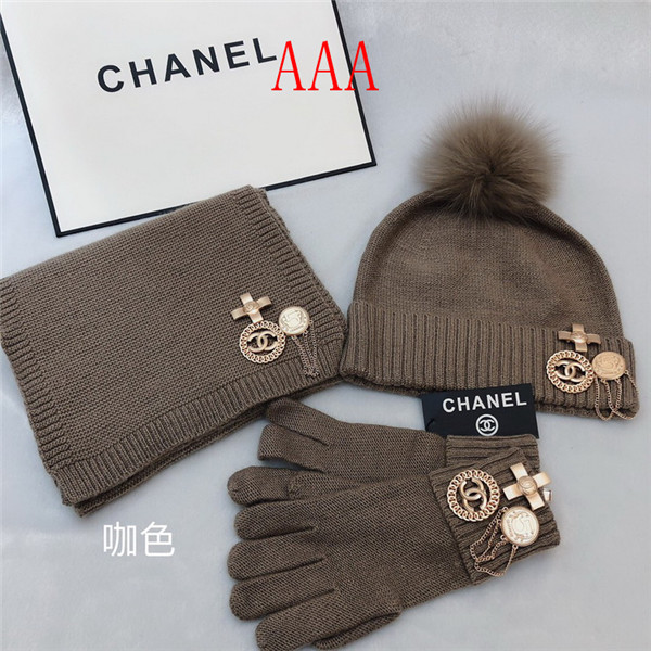 Chanel Hat and scarvf(AAA)-045