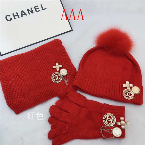 Chanel Hat and scarvf(AAA)-046