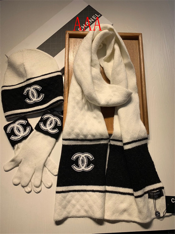 Chanel Hat and scarvf(AAA)-050