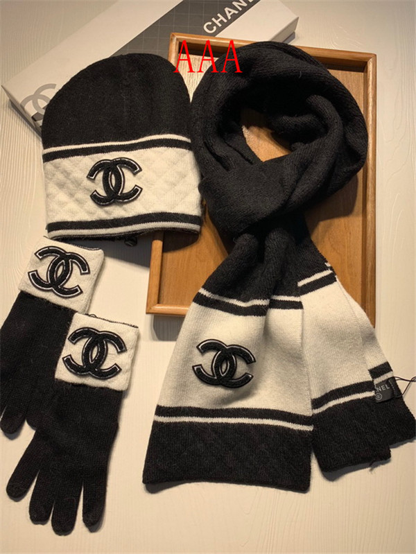 Chanel Hat and scarvf(AAA)-051