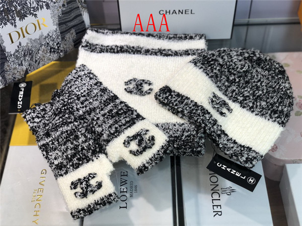 Chanel Hat and scarvf(AAA)-052