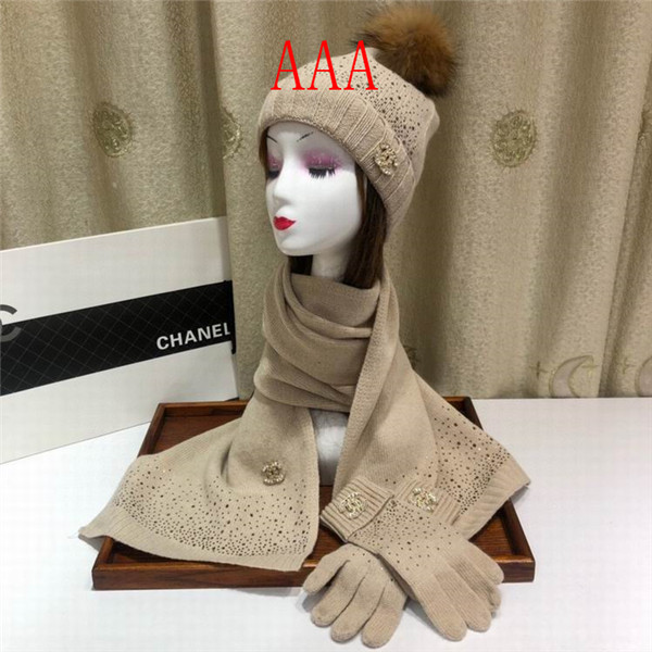 Chanel Hat and scarvf(AAA)-064