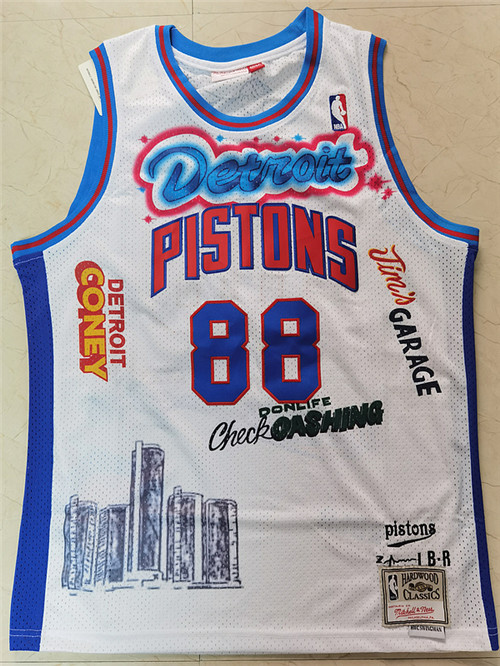 Detroit Pistons Game Jerseys-010