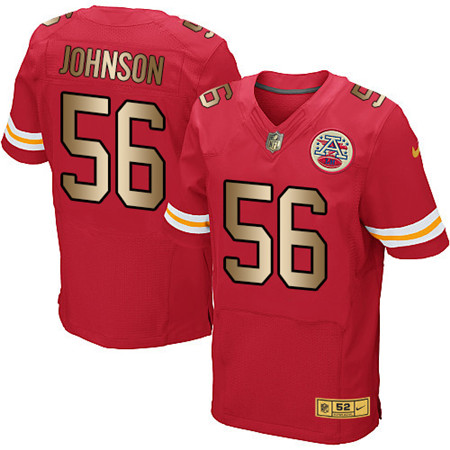 Kansas City Chiefs Elite Jersey-132