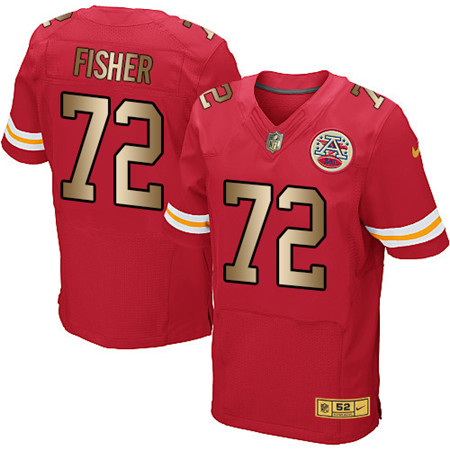Kansas City Chiefs Elite Jersey-134