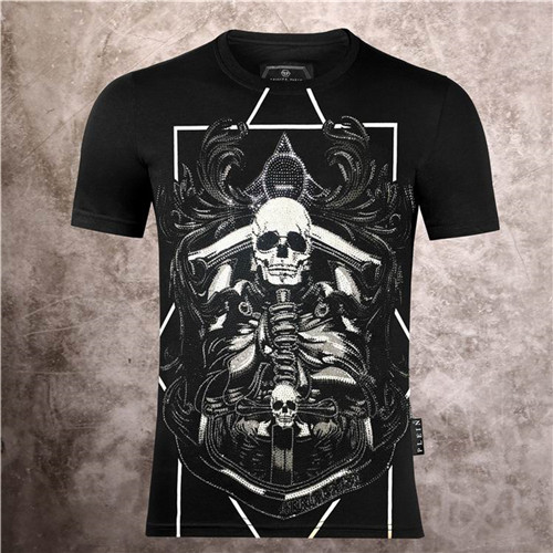 PhilippPlein Round neck T-shirt-M-102