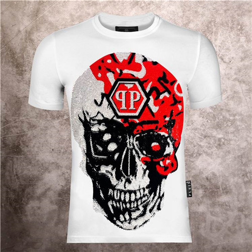 PhilippPlein Round neck T-shirt-M-103