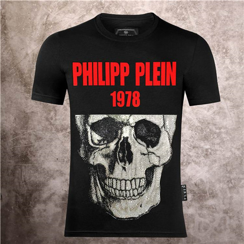 PhilippPlein Round neck T-shirt-M-104