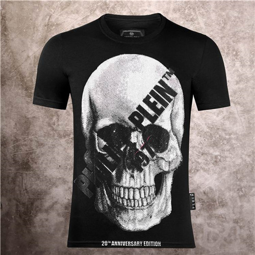 PhilippPlein Round neck T-shirt-M-105